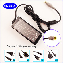 20V 3.25A Laptop PC Ac Adapter Battery Charger Power Supply for IBM / Lenovo / Thinkpad R400 R500 W500 W700 N200 V100 C200 3000(China)