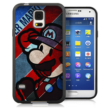 Cartoon Popular SUPER marios Phone Case Bag For Samsung Note 2 Note 3 Note 4 Note 5 S3 S4 S5 S7 S6 edge plus Soft Rubber Cover