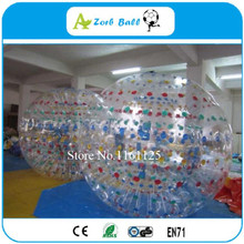 Free Shipping Sports entertainment football inflatable body zorb ball