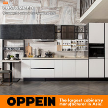 2017 Hot Sale Customized High Pressure laminate &UV Lacquer Modern Kitchen Cabinet (PLCC17017)
