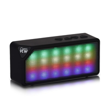 YCYY X3/X3S Mini Bluetooth Speaker TF USB FM Radio Wireless Music Sound Box Subwoofer Loudspeakers with Mic for iOS Android