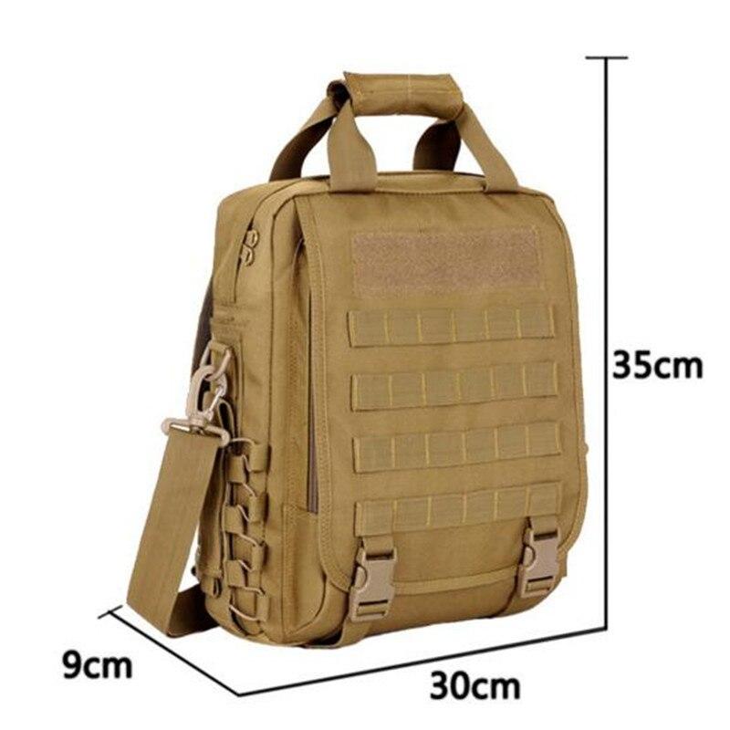 Mens bags tactics leisure shoulder bag is waterproof 14 inch chest dedicated men and women laptop bag travel packages<br>
