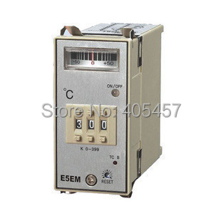 OMRON  E5EM-YR40K point temperature controller,controlling temperature unit 0-399 degrees celsius,K type thermostat<br><br>Aliexpress