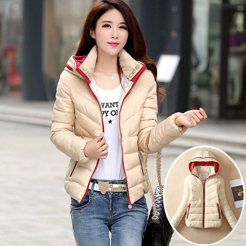 Nice Pop New Winter Jacket Women Warm Cotton Plus Size Short Slim Design Coat Cotton Padded Outwear High Quality Parkas HJ112Одежда и ак�е��уары<br><br><br>Aliexpress