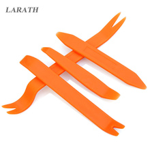 4Pcs Car Auto Stereo Radio Panel Dash Removal Pry Install Tool Kits - Orange(China)