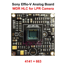 HLC WDR 800TVL Module Board PCB Circuit with Sony Effio-V CCD Super Digital Wide Dynamic for LPR Security Analog Camera System