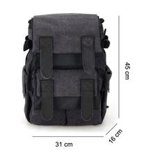 1PC CADEN M5 Travel Double Shoulder DSLR SLR Camera Bag Laptop Backpack FREESHIPPING