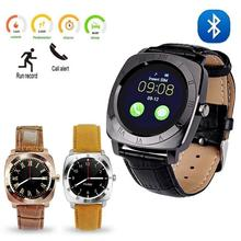 Bluetooth Smart Watch With Camera Best Digital Phone Smartwatch For Android  IOS Compatible Latest 2017 Fitness Sport Smat Watch