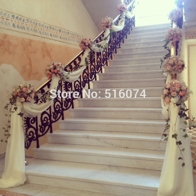 High Quality Organza Roll For Wedding Party Decor 75 Cm *1000 Cm Wedding  Chair Cover Sashes Hotel Stairs Organza Sash