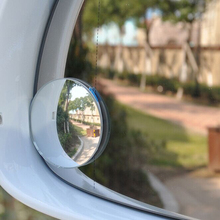 2pcs/Lot New 360 Degree Car Wide Angle Round Convex Blind Spot Mirror For Parking Rear View Mirror Rain Shade Free Shipping