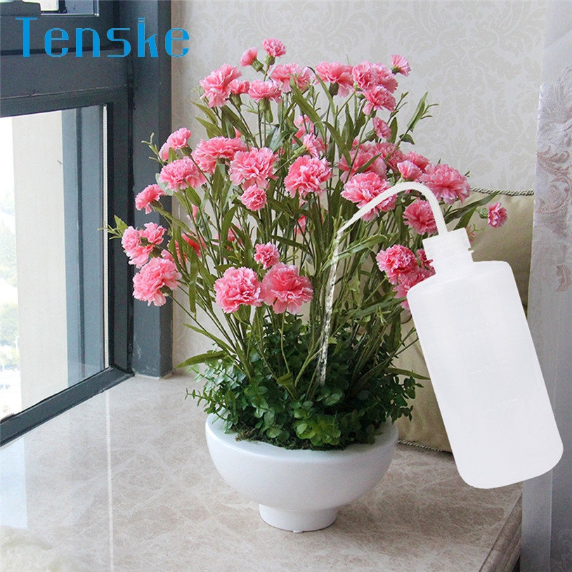 TENSKE 16oz 500ml Large Squeeze Transparent Water Bottle Liquid Container Water Sprayer U70306 DROP SHIP(China (Mainland))