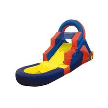Children swiming pool inflatable water slides for sale(China)