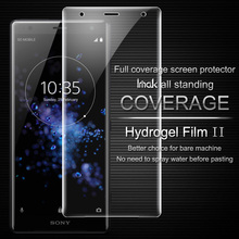 Buy IMAK sFor Sony Xperia XZ2 Screen Protector Hydrogel II Front&Back Soft Ultra-Thin Protective Film Sony Xperia XZ2 Glass for $6.19 in AliExpress store