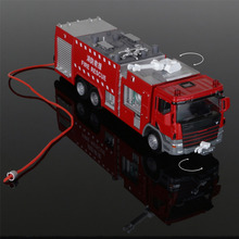 Water Tank Truck 1:50 Alloy Original Factory Smulation Model Children Toy Birthday Christmas Gift