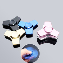 Buy 2017 New EDC Tri-Spinner Fidget Toys Pattern Hand Spinner Metal Fidget Spinner ADHD Adults Children Educational Toys Hobbies for $7.19 in AliExpress store