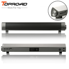 TOPROAD Portable Column Bluetooth Speaker Receiver Parlantes Blutooth 3D Surround Subwoofer HIFI Soundbar Boombox for Phone PC(China)