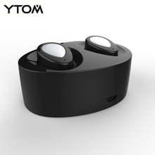 YTOM E800 Original Bluetooth earphone Wireless In-ear Earbuds Double Track earphone for iphone 6 7 Smartphone Bluetooth headset