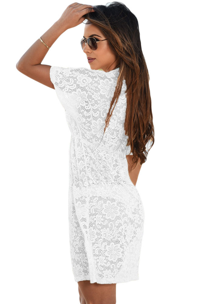 White-See-through-Lace-Cover-Up-Dress-LC42054-1-2