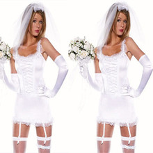 Sexy Lingerie Hot Nuisette Porn Babydoll Bride Costume Bridal Erotic Lingerie  Lace Corset Babydoll Nightwear