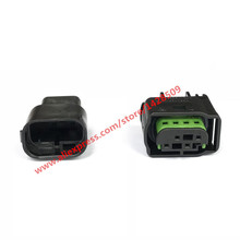 5 Sets 4 Pin LPG Converter Automotive Harness Connector 1-967640-1 / 8E0 971 934 / 968399-1 Female Male For VW AUDI BMW(China)