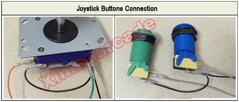 x for joystick buttons