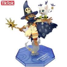 Digimon Adventure Digital Monster Wizarmon Tailmon Gatomon Cartoon Toy PVC Action Figure Model Doll Gift(China)