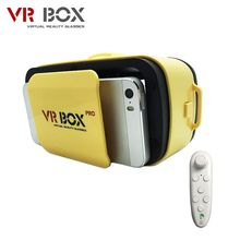 "VR BUCINUM VR BOX 3.0 PRO 3D Glasses for 4.5-5.5"" IOS & Android Smartphones 3D Virtual Reality Glasses with Bluetooth Controller"