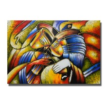 XiaMen Hand made Abstract Paintings For Home Decoration Hang Pictures Chinese Oil Painting New Wall Art No Framed(China)