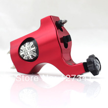 Premium Red PVD Aluminum Bishop Rotary Tattoo Machine Wholesale Tattoo Supply  Liner Shader Combined