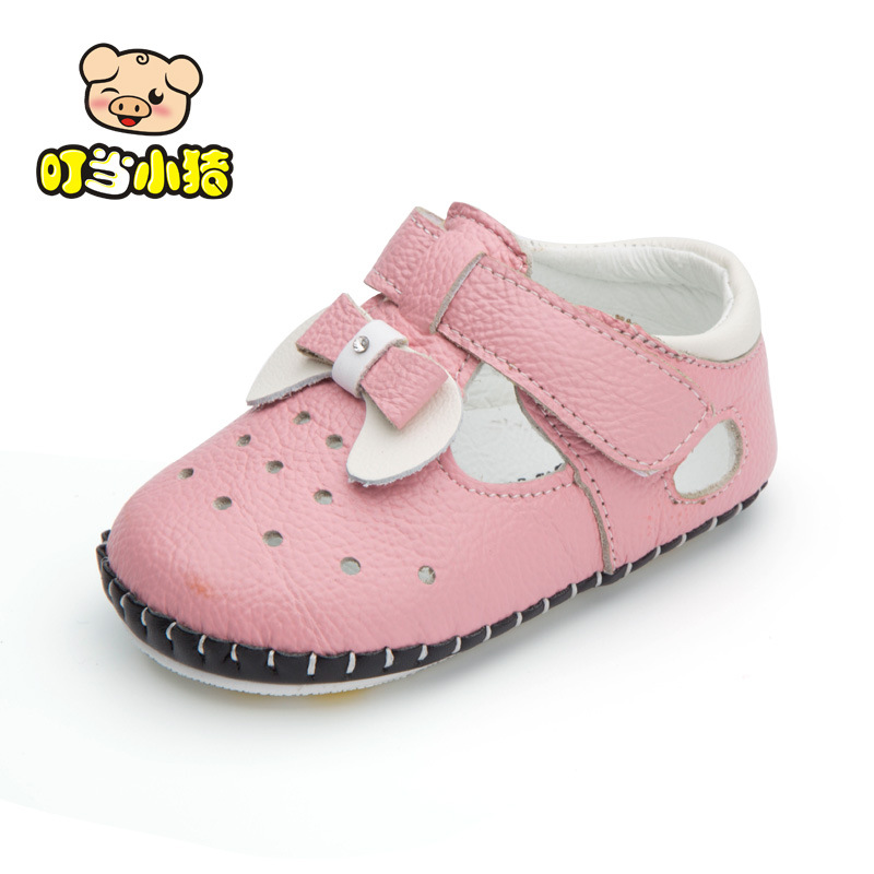 Fashion Newborn Baby Boys First Walker Toddler Girl Shoes Brand Genuine Leather Non-slip Toddler Shoes KS54(China)