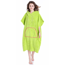 Changing Towel Poncho Robe With Hood One Size Fits All Great For Changing Out Of Your Wetsuitt