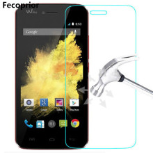 Fecoprior Protective Tempered Glass For Wiko Lenny 2 3 Max Sunset Highway Pure Rainbow Jam Screen Protector Film(China)