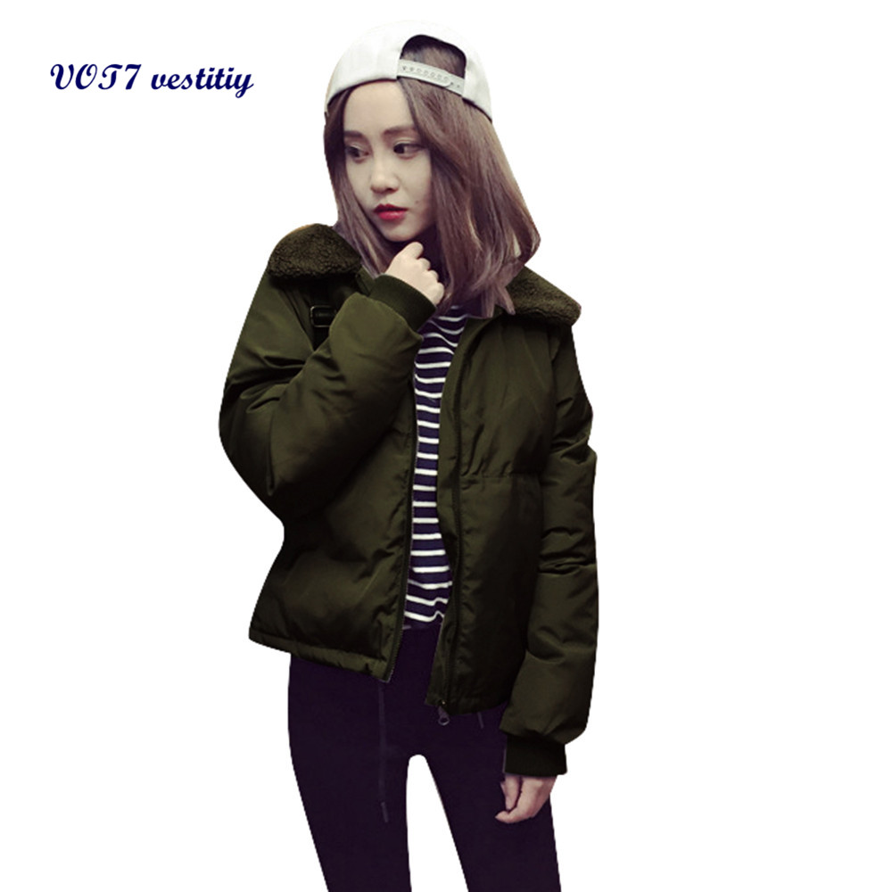 2017 Hotsale Winter Polyester warm WOMEN Jacket VOT7 vestitiy Fashion Womens Casual Winter Warm Parka Jacket Coats Coat A 1Одежда и ак�е��уары<br><br><br>Aliexpress