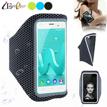 Sport Running Ultra Light Arm Band Case Cover for Wiko Rainbow Jam 4G , Selfy , Rainbow UP 4G , Rainbow Lite , Highway Pure 4G(China)