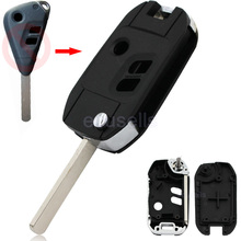 5 Pcs/Lot Modified Folding Remote Key Shell 3 Button Smart Key Case Fob For Subaru Legacy Outback