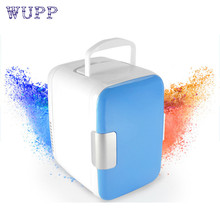 Dropship Hot Selling 12V 4L Car Mini Fridge Portable Thermoelectric Cooler Warmer Travel Refrigerator Gift Sep 4