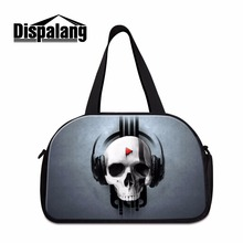 Skull sac de Sporty Tote Travel bags medium sized luggage garment bag for men carry on bag for guy cool shoulder duffel bag