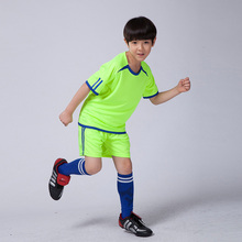 Survetement football 2017 kids soccer jersey training sets sports team football jerseys kits men blank desgin short soccer suits