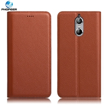 Buy Original PHOPEER Luxury Genuine Leather Case DOOGEE Shoot 1 Book Style Filp Cover Case DOOGEE Shoot 1 5.5inch for $15.19 in AliExpress store