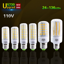 5730 Chip E27 LED Corn Bulb light 110V 24Led 30Led 42Led 64Led 80Led 89Led 108Led 136LEDs Lamp Replace 20W - 120W Incandescent