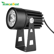 Lemonbest 3W Led Garden Light Outdoor Decorative Lawn lamp AC/DC 12V IP65 Waterproof Path Yard Floodlight Spot light Base Holder