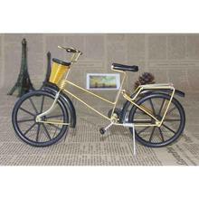 Wheeled bicycles framed iron metal crafts Iron metal bicycle model Decoration 8 colors can choose A20(China)