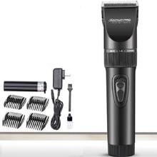 titanium ceramic blade Rechargeable hair clipper with  lithium battery Hair Trimmer hair cutting machine