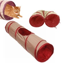 Игровой туннель для кошек своими руками 45