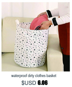 waterproof dirty barrel folding toy creative clothes basket