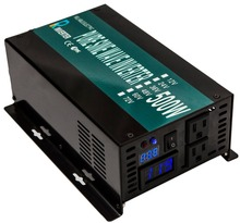 Inverter Manufacturer, 500W,12/24/48/110V-110/220V DC To AC Transformer LED Display Off Grid Pure Sine Wave Solar Power Inverter(China)
