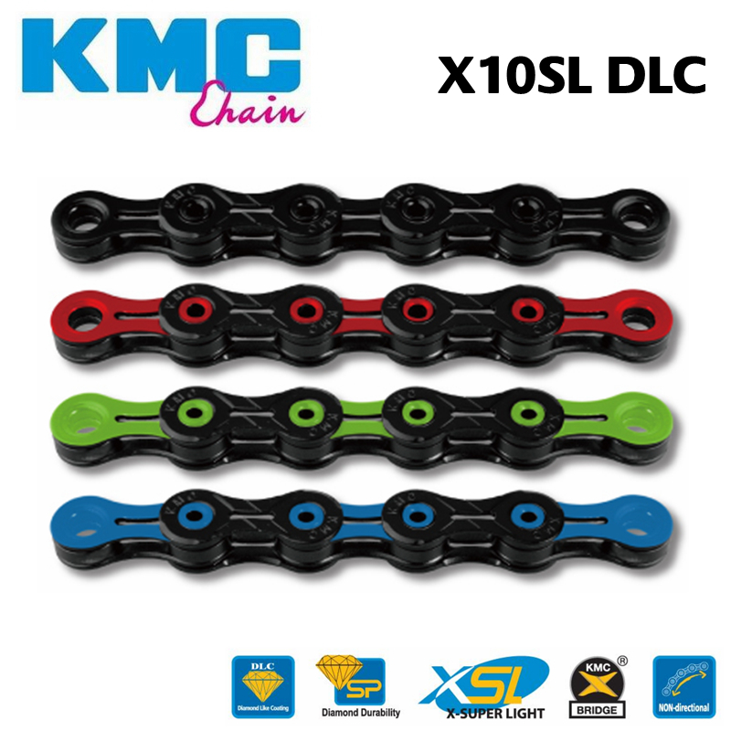 KMC X11EL Extra Light 11-Speed 106 Links Bicycle Chain Silver