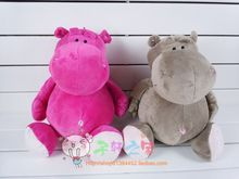 25 cm hippo plush toy doll gift w4734(China)