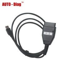 Newest Version KM Tool for Fiat Via Obd2 Mileage Correction Programmer OBDII KM Odometer Reset Tool(China)