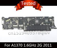 "Tested Motherboard i5 1.6GHz 2GB RAM for Macbook Air 11"" A1370 Logic Board 2011 820-3024-B(China)"